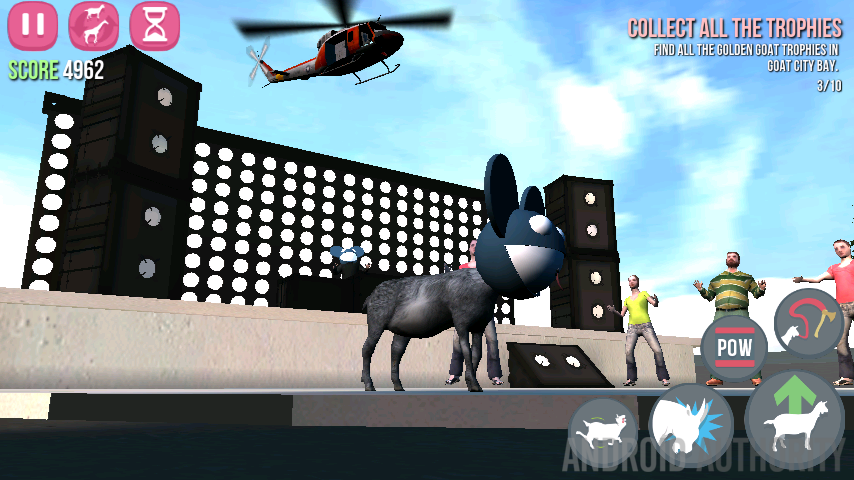 Goat Simulator deadmau5 Helicopter aa