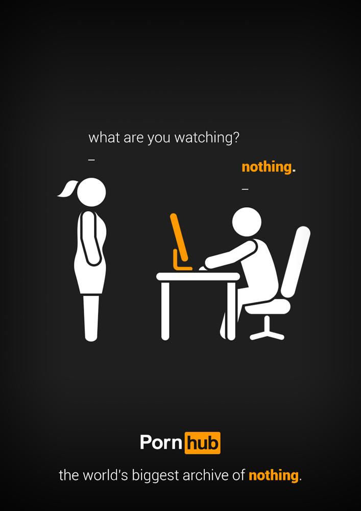PornHubNothingAd