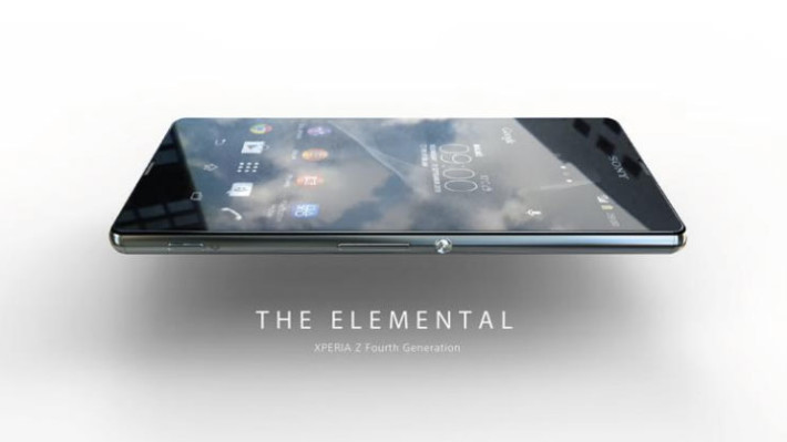 Somewhat blurry alleged image of Xperia Z4