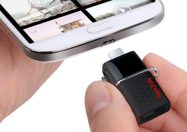 USB флешка SanDisk Cruzer Ultra 64GB (SDCZ48-064G-U46)