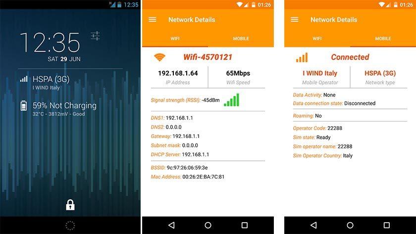 network info best DashClock extensions