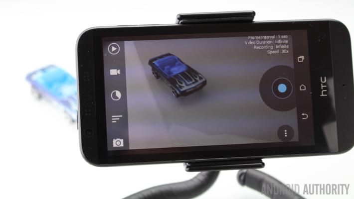 Framelapse toy car HTC Desire 510