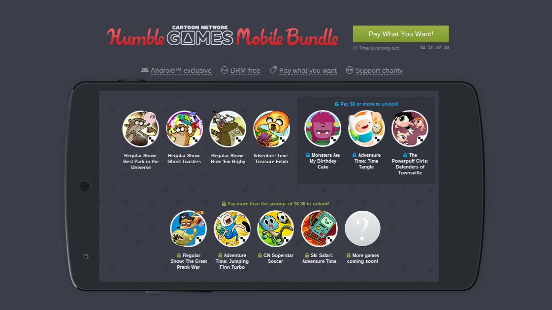 Humble Cartoon Network Bundle