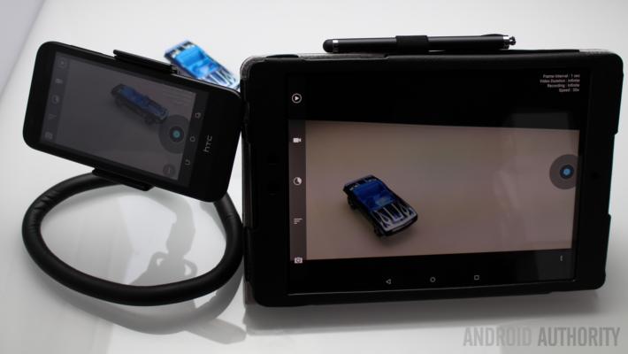 Nexus 9 HTC Desire 510 Framelapse