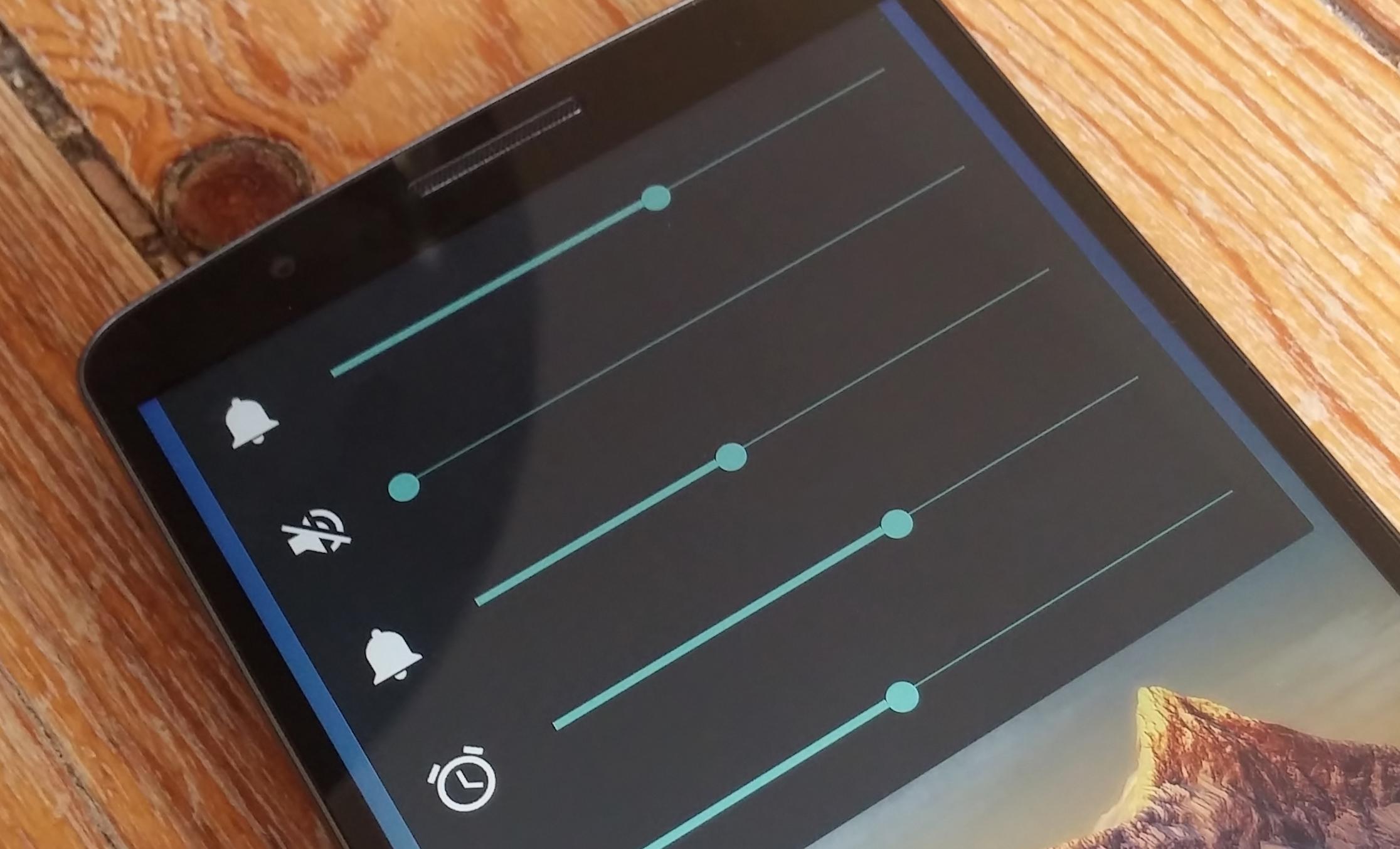 SoundHUD volume controls