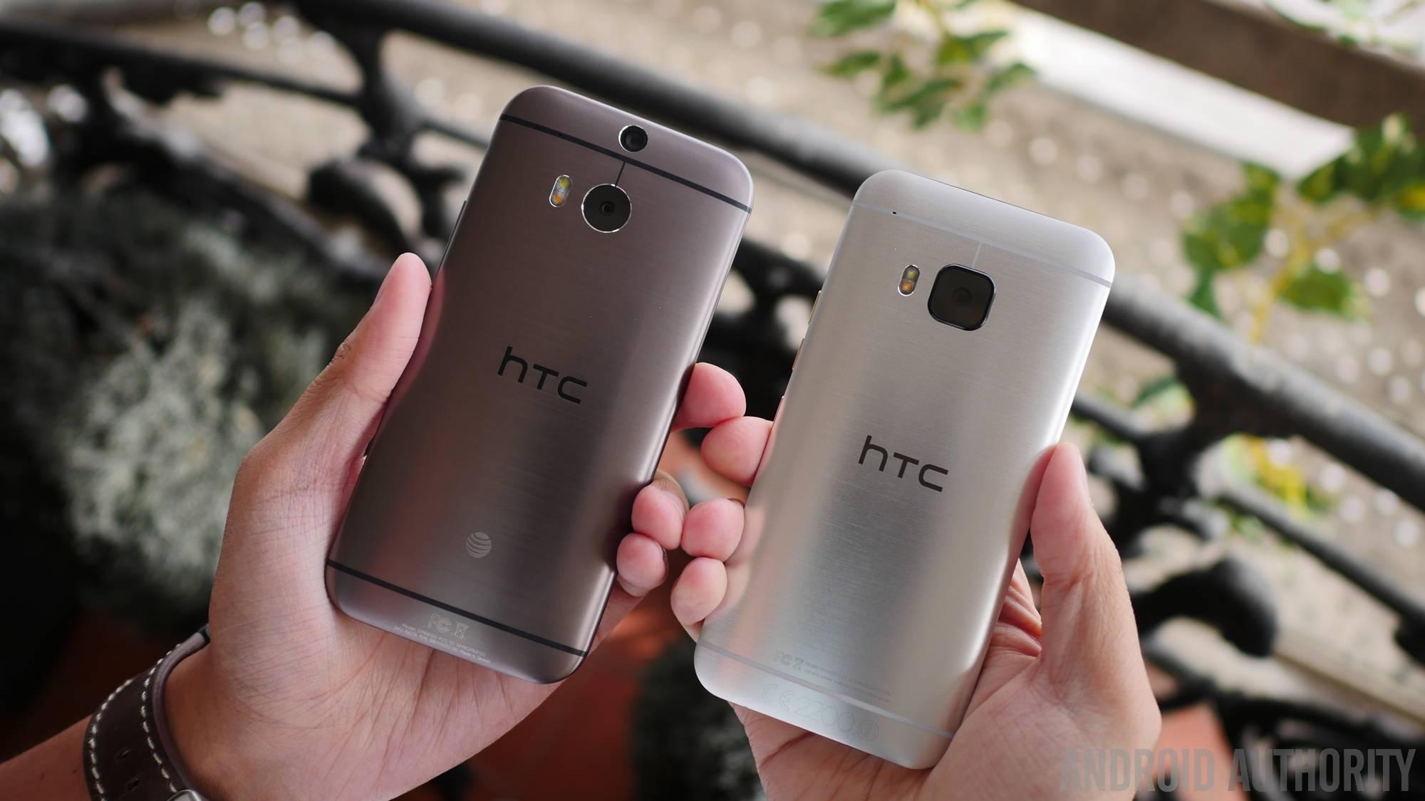htc one m9 vs htc one m8 2