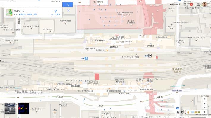 The Original Maze Runner PacMan Appears On Google Maps - Run planner google maps