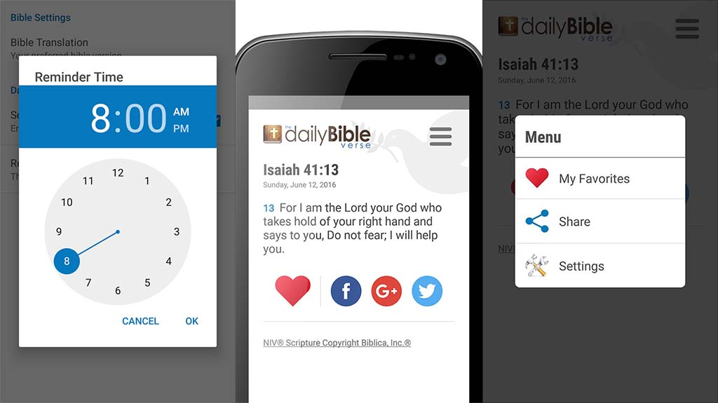 daily bible verse best bible apps