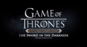 Game of Thrones The Sword in the Darkness