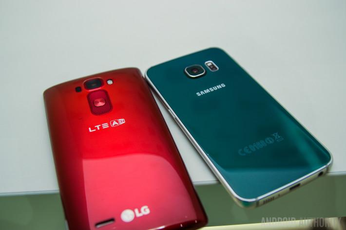 Samsung Galaxy S6 Edge VS LG GFlex 2-1