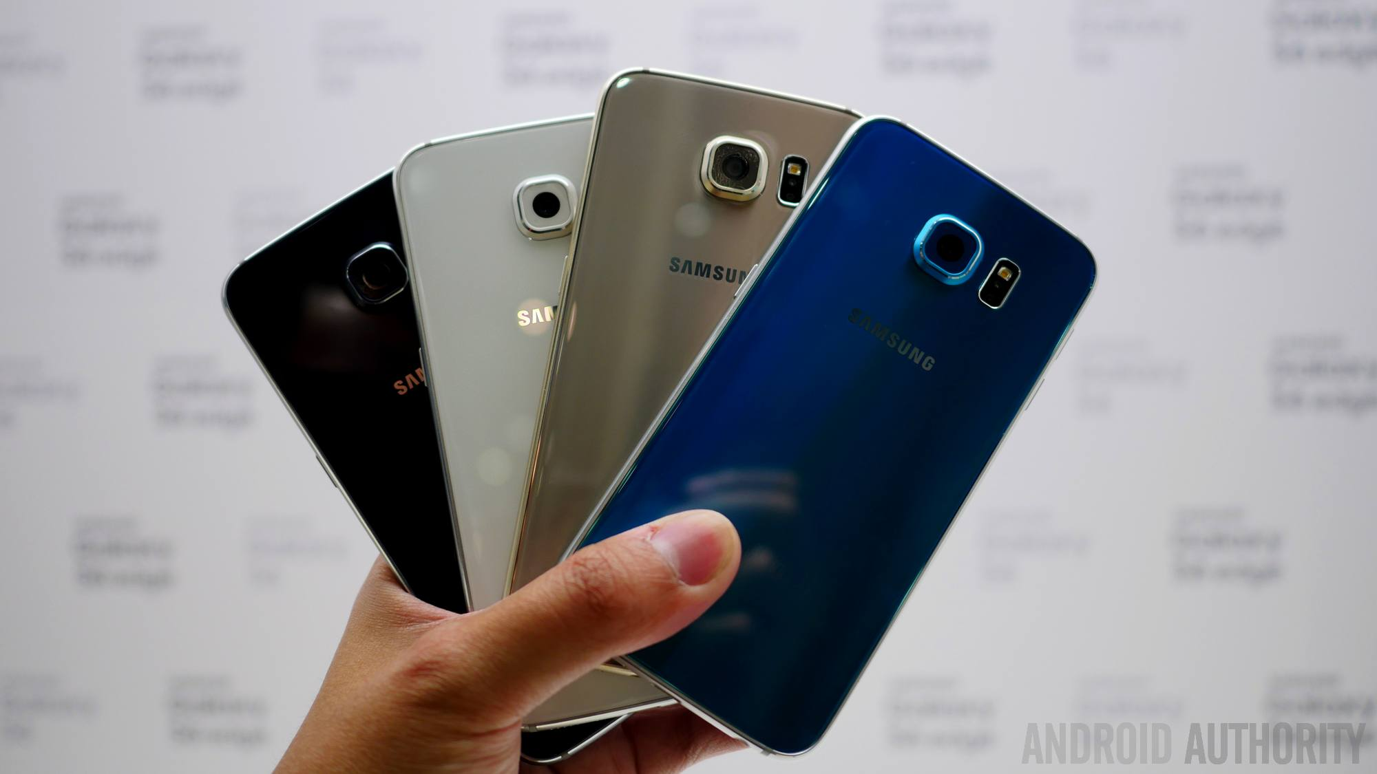 Samsung galaxy s6 color comparison