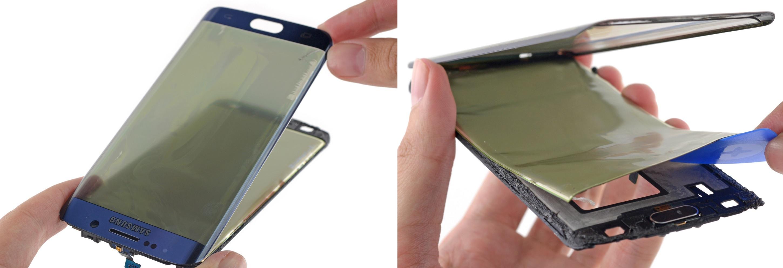 Galaxy S6 Edge AMOLED display