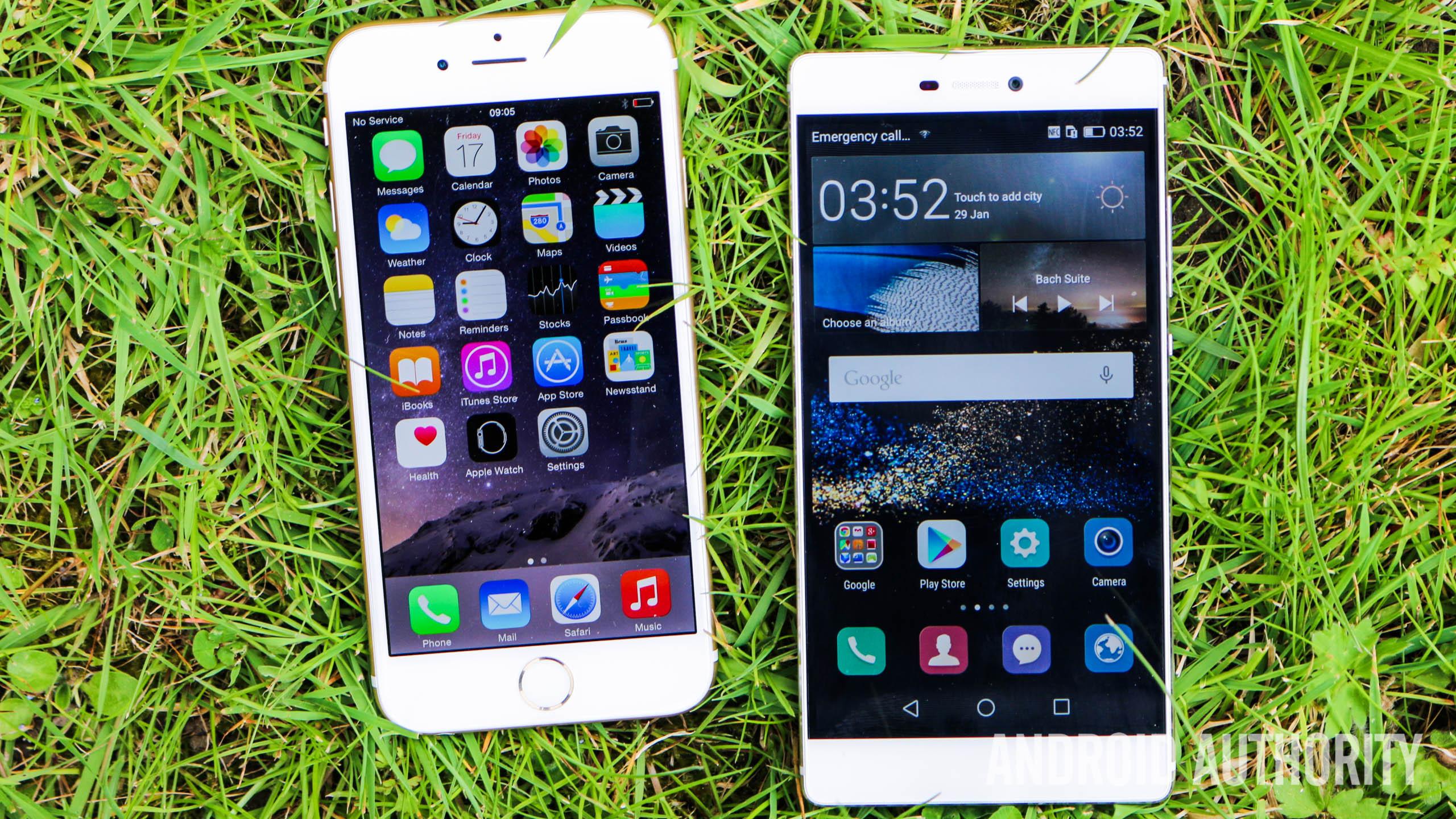 Camara Iphone 6 Vs Huawei P8