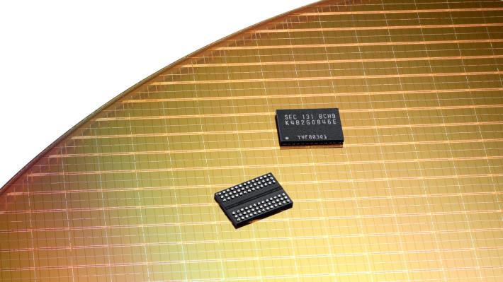 LPDDR4 DDR4 mobile memory micron samsung