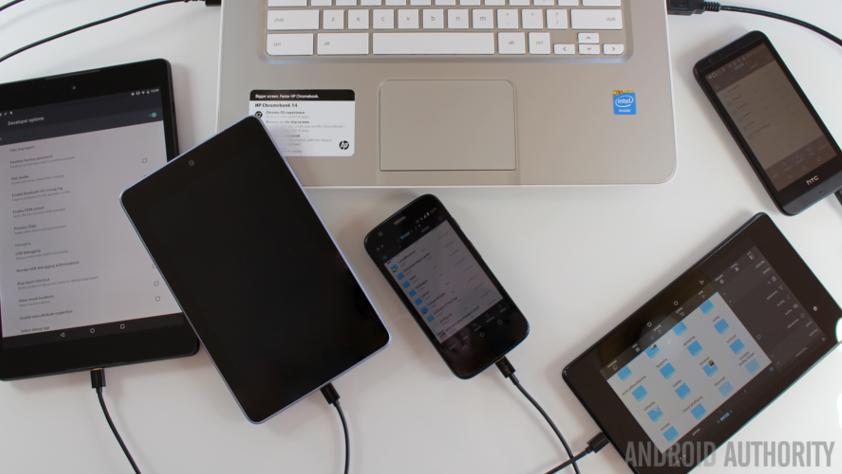 Nexus 7 Nexus 9 Moto G Chromebook ADB USB