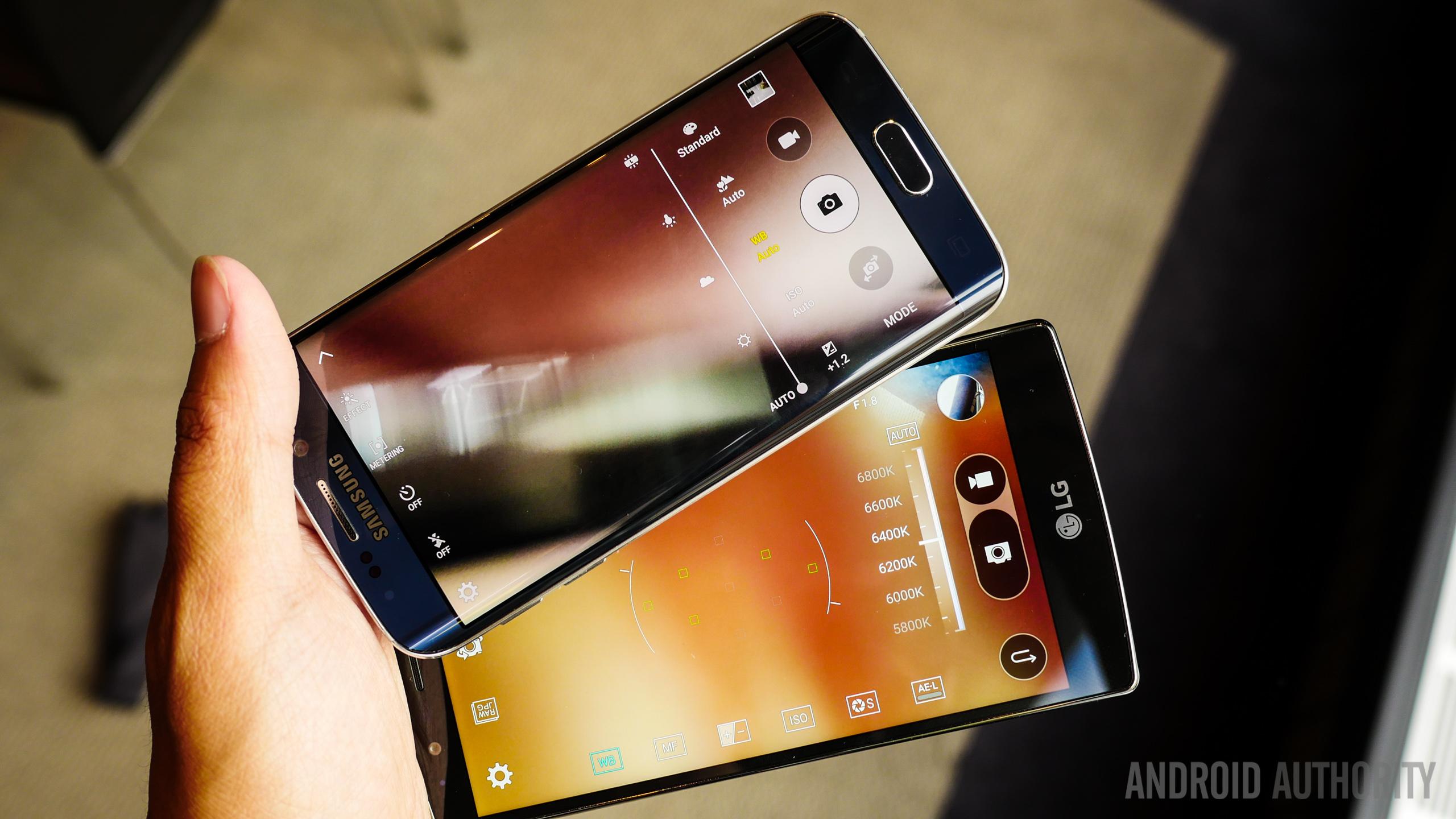Lg G4 Vs Galaxy S7 Edge: LG G4 Vs Samsung Galaxy S6 Edge Quick Look