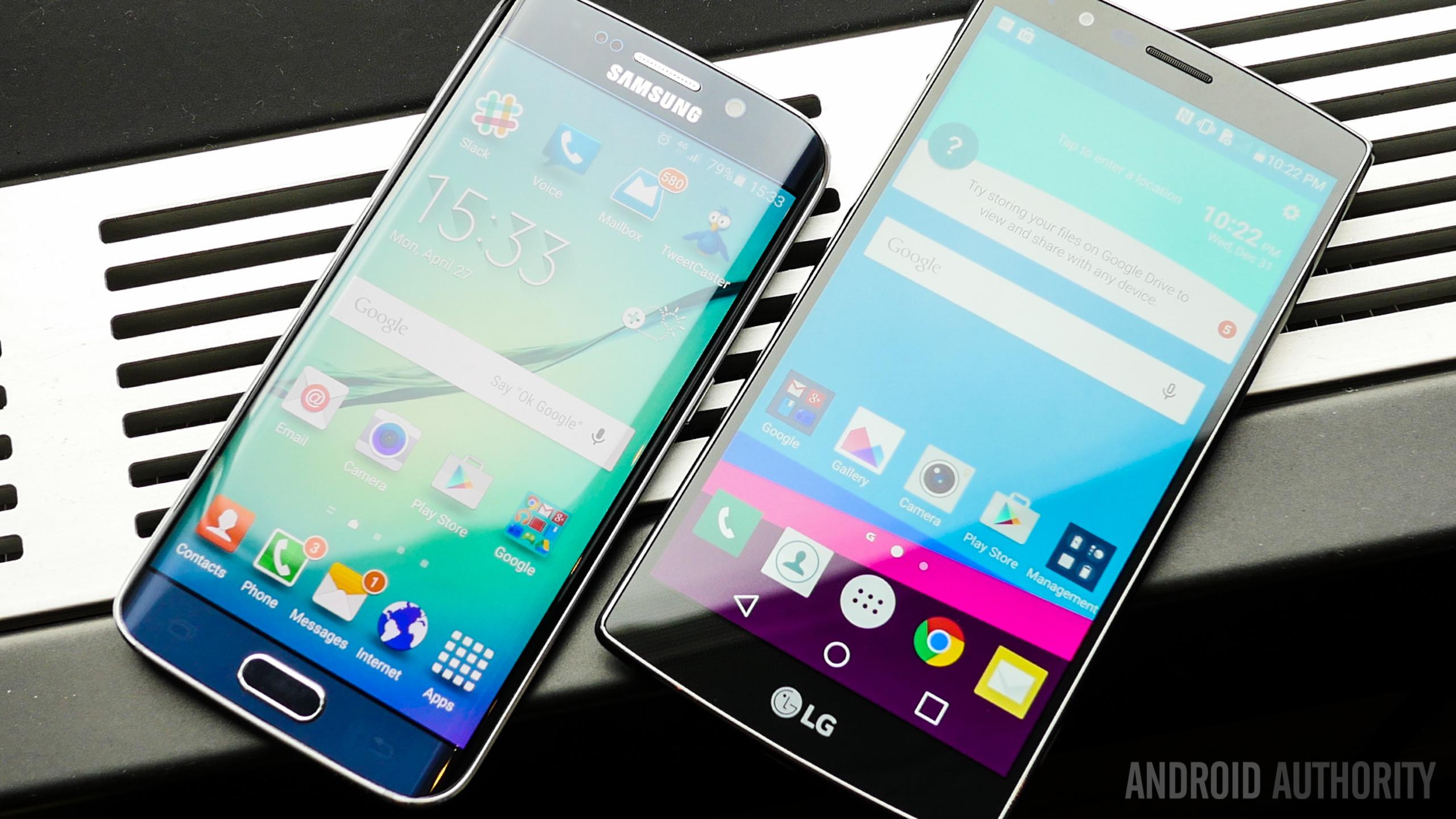 LG G4 Vs Samsung Galaxy S6 Edge Quick Look