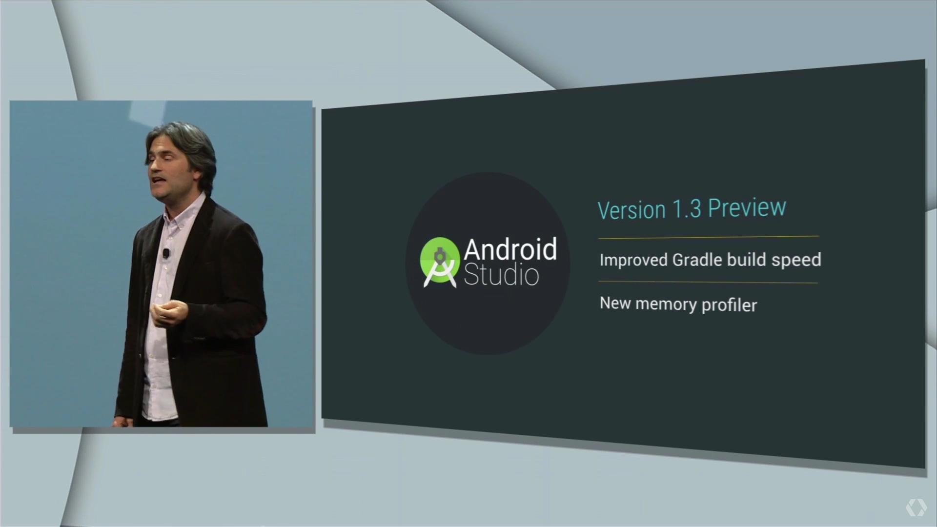 Google IO 2015 android atudio 1.3