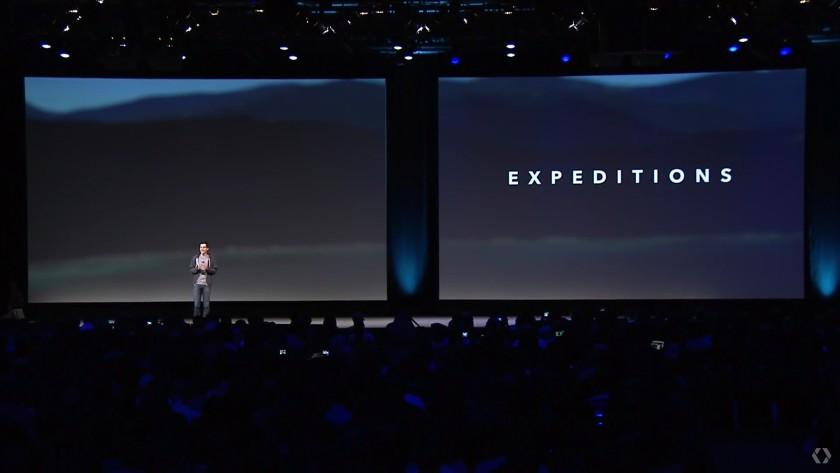 Google IO 2015 expeditions