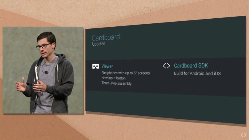 Google IO 2015 google carboard iOS both platforms