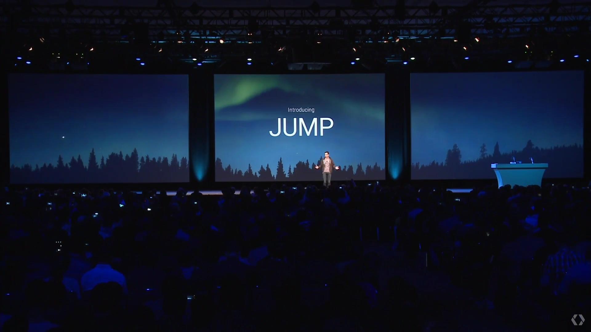 Google IO 2015 jump