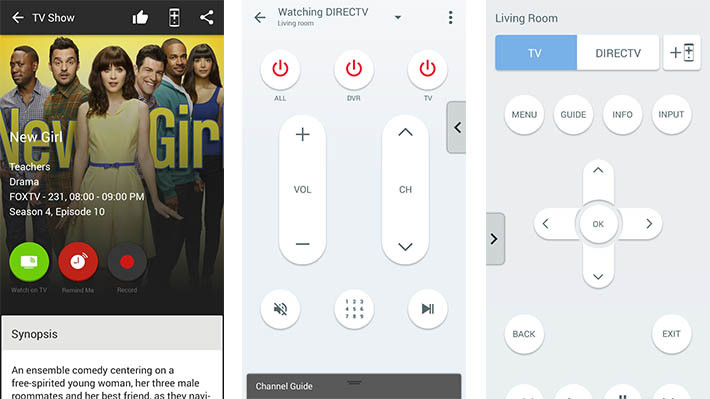 peel best TV remote apps for Android