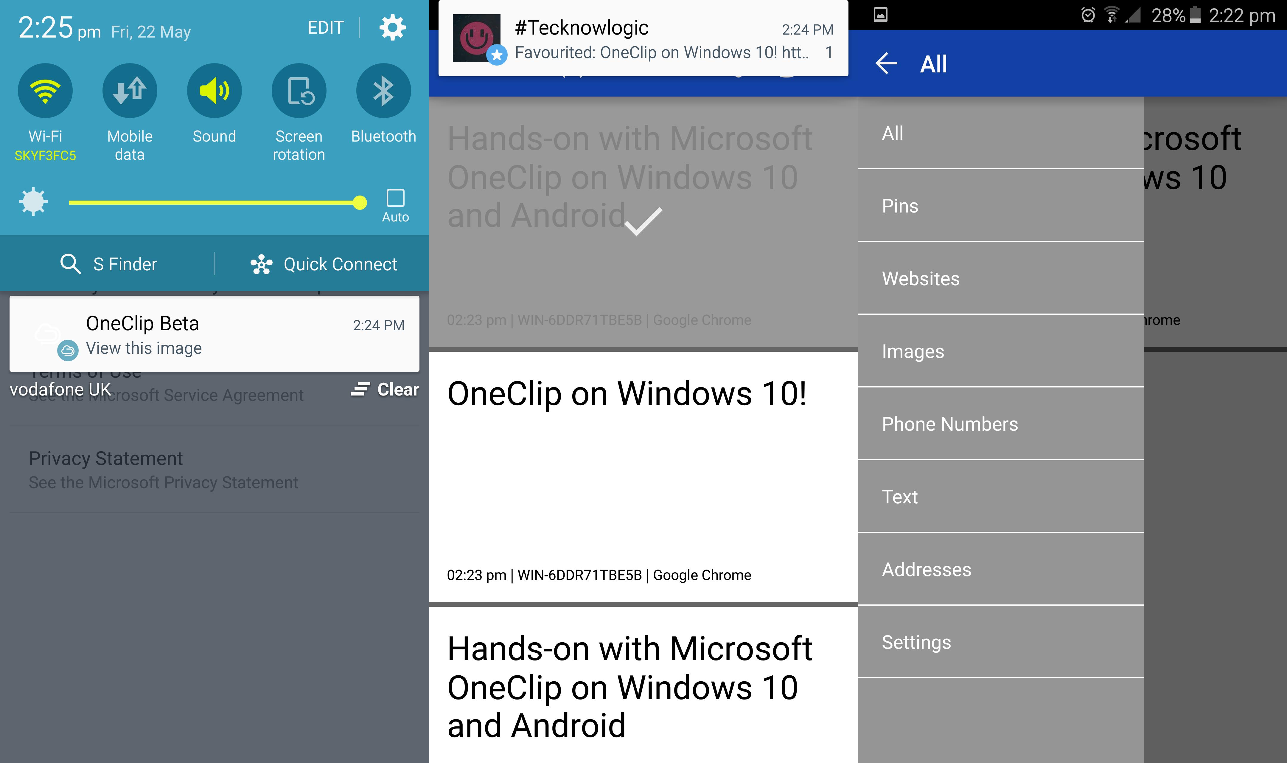 Microsoft Oneclip Is A Cross Platform Cloud Clipboard App
