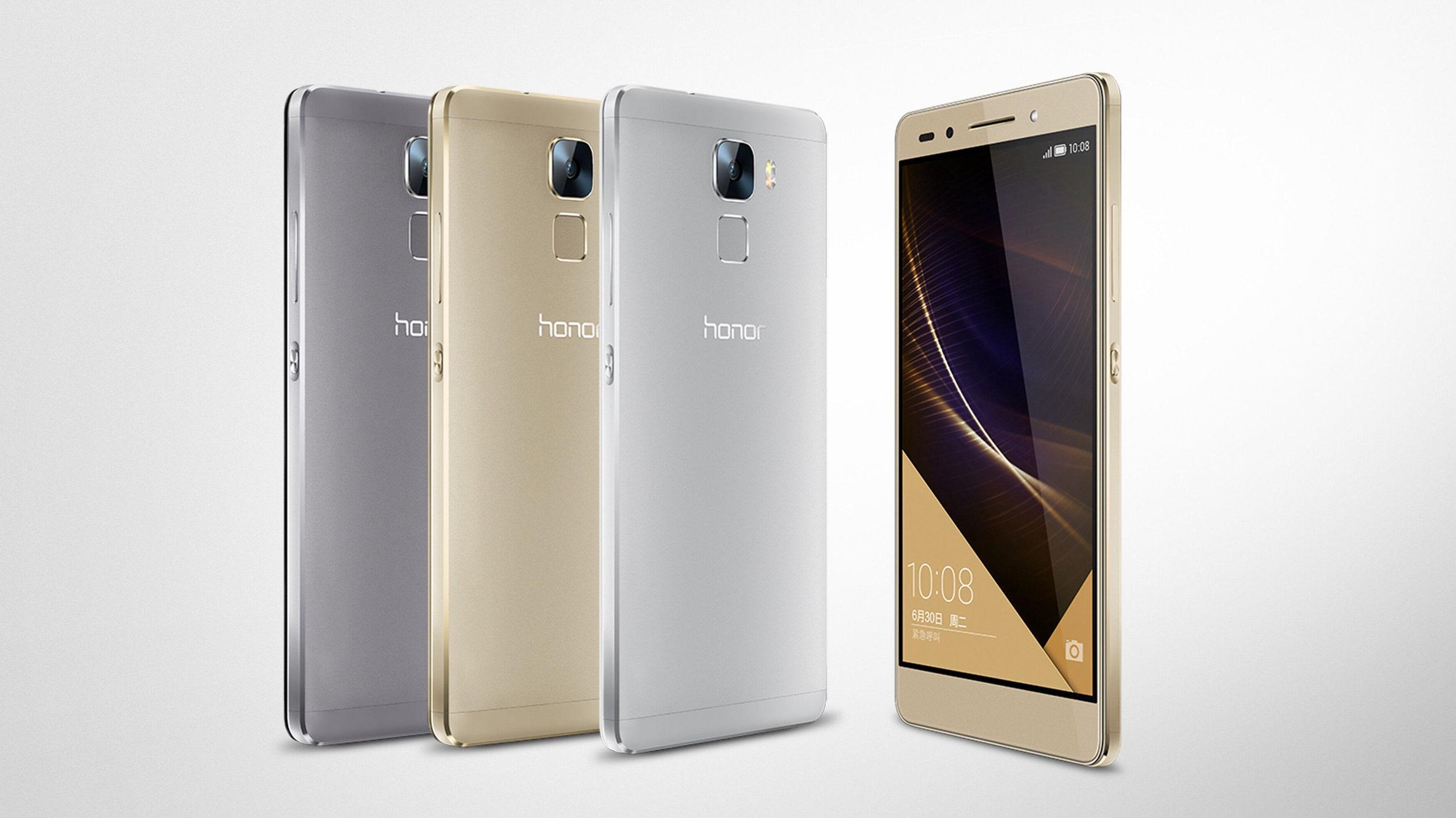 Huawei Honor 7 especificações e configurações