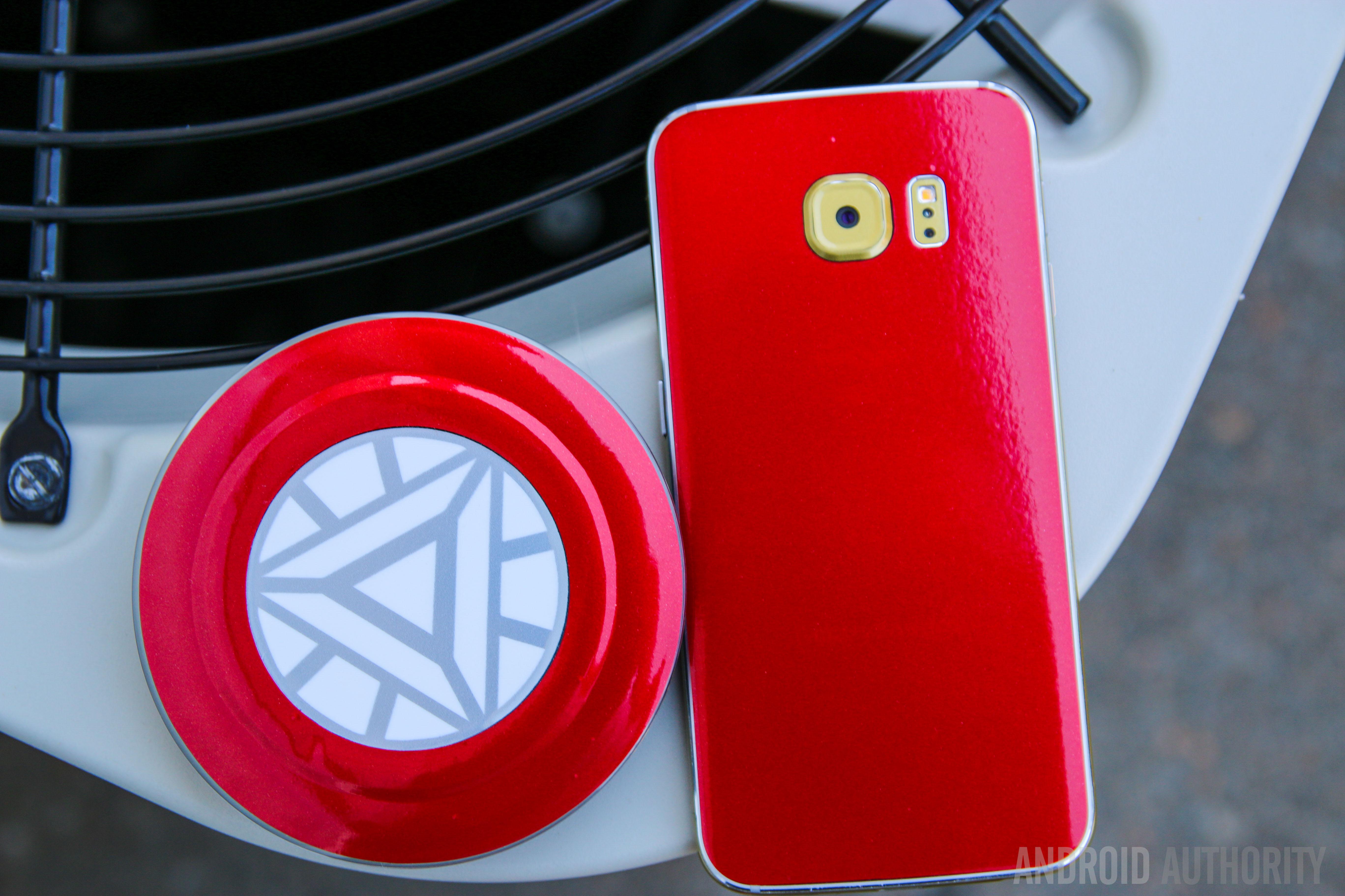 Convert your Samsung Galaxy S6 Edge into the Iron Man