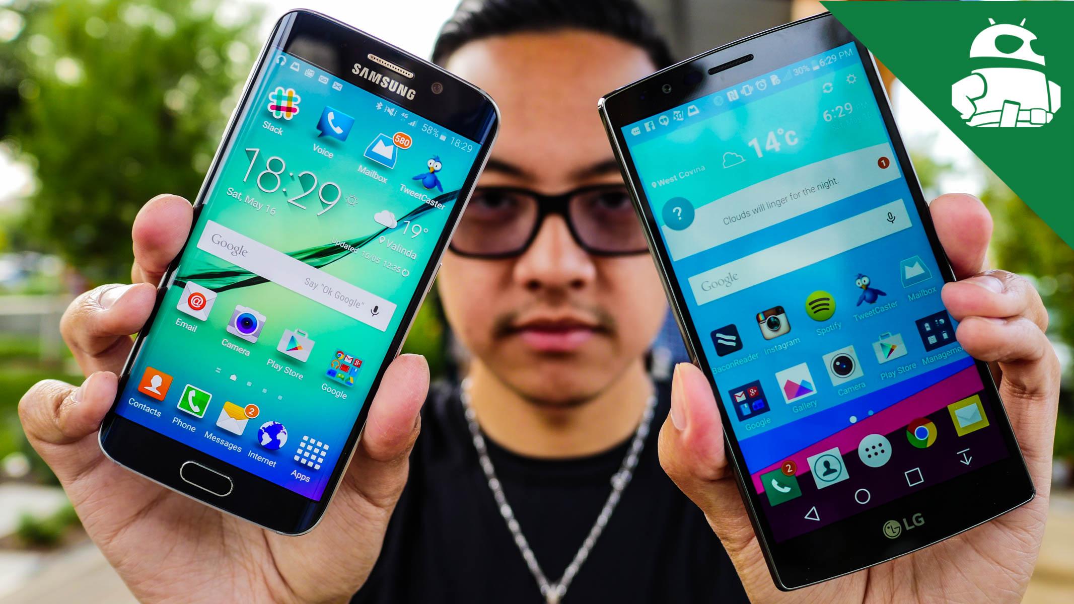LG G4 vs Samsung Galaxy S6 / S6 Edge