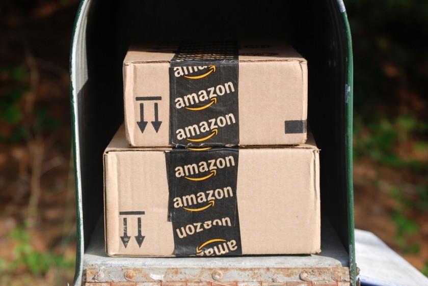 Amazon Prime mailbox shutterstock
