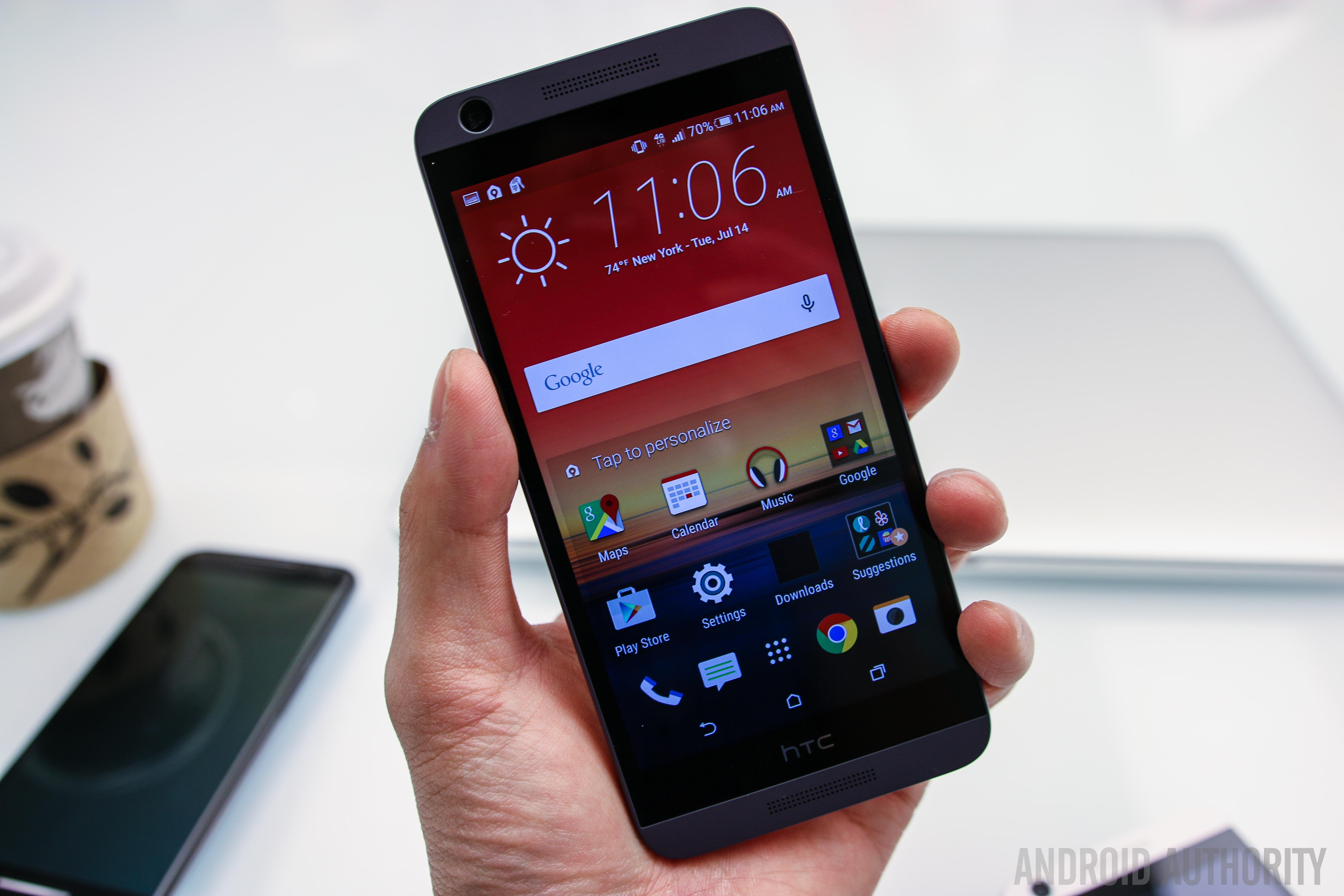 HTC Desire 626 Hands On-3