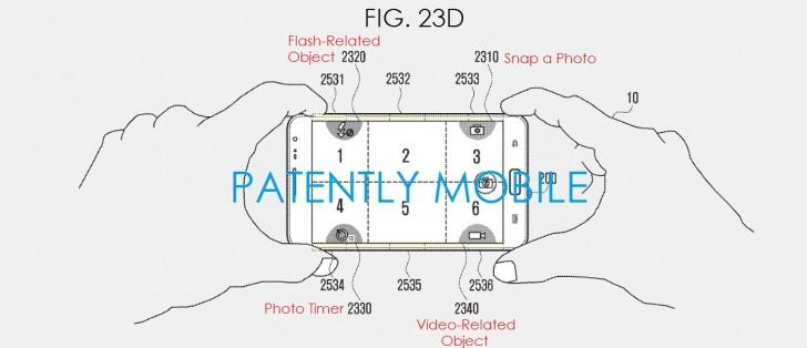 Samsung Sensor Pads Patent 2