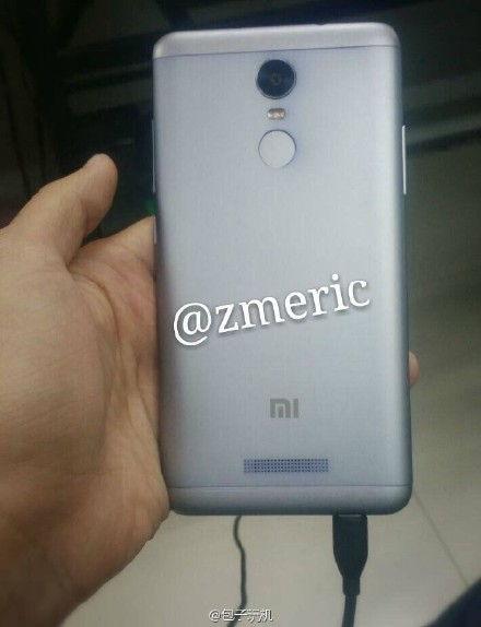 Xiaomi Redmi Note 2 leak