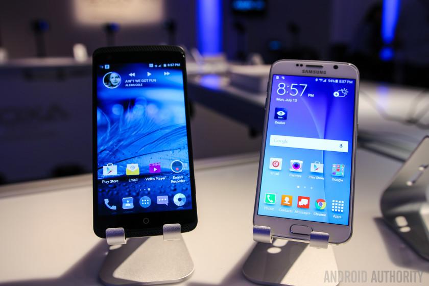 ZTE AXON Phone vs Samsung Galaxy S6 Quick Look-7