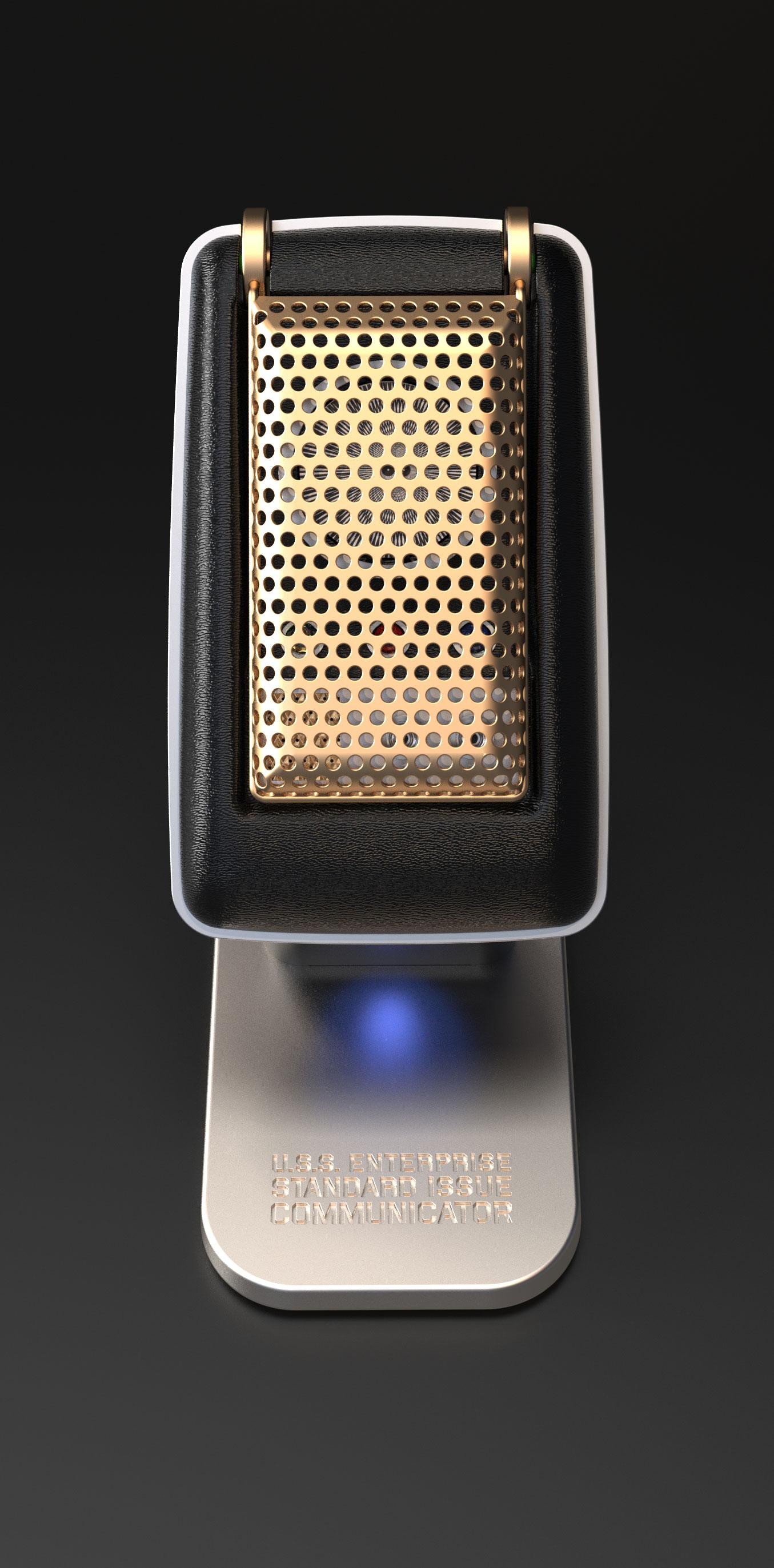 Star Trek Communicator released as Bluetooth handset and ...