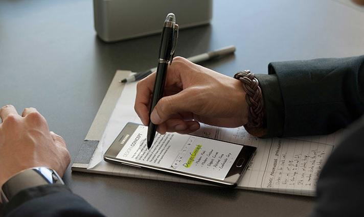 Galaxy Note pen teaser