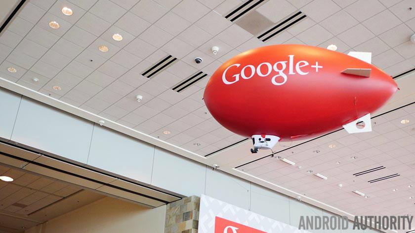 Google Plus Google+ AA blimp