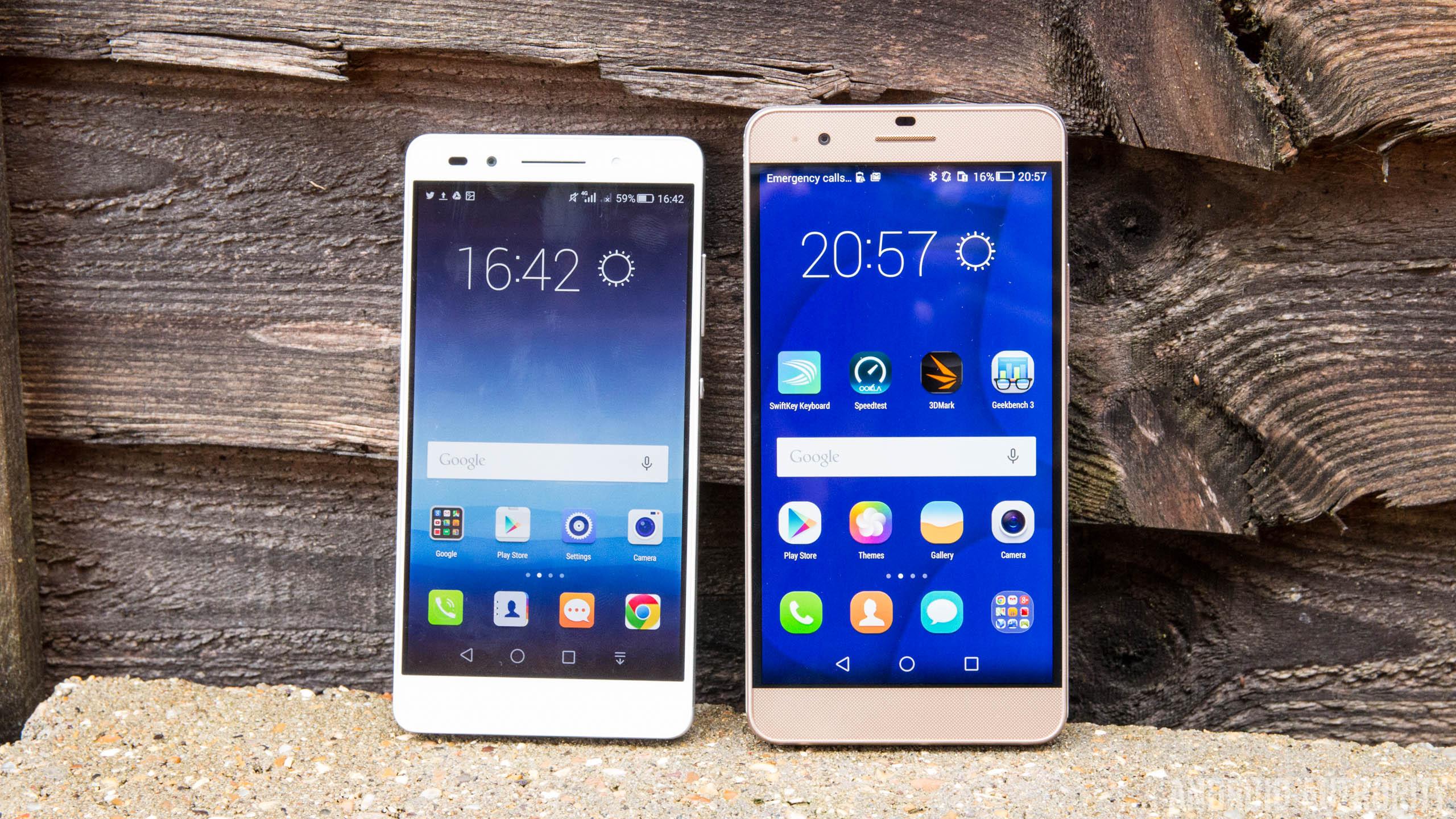 Huawei Honor 7 vs Honor 6 Plus