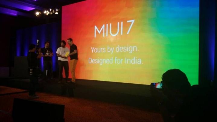 MIUI 7 launch event