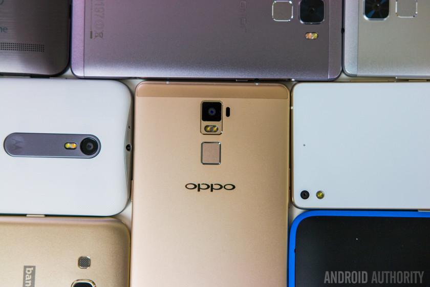Midrange smartphones 2015-8