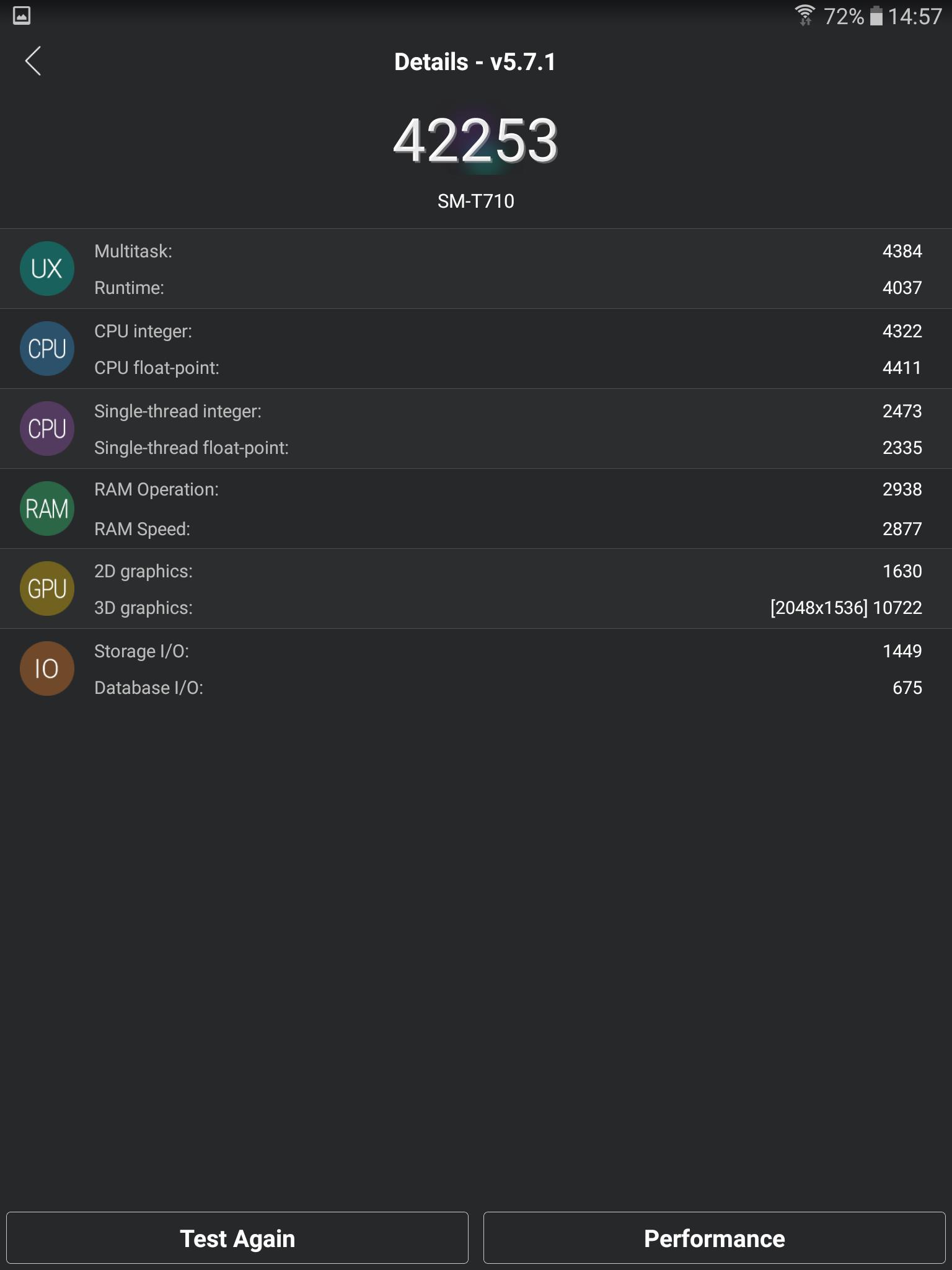 Screenshot Samsung Tab S2 - Best Screen 2018