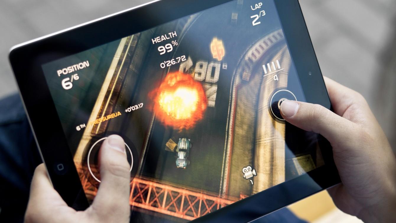 Tablet Gaming Shutterstock