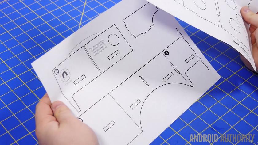 DIY Google Cardboard 9