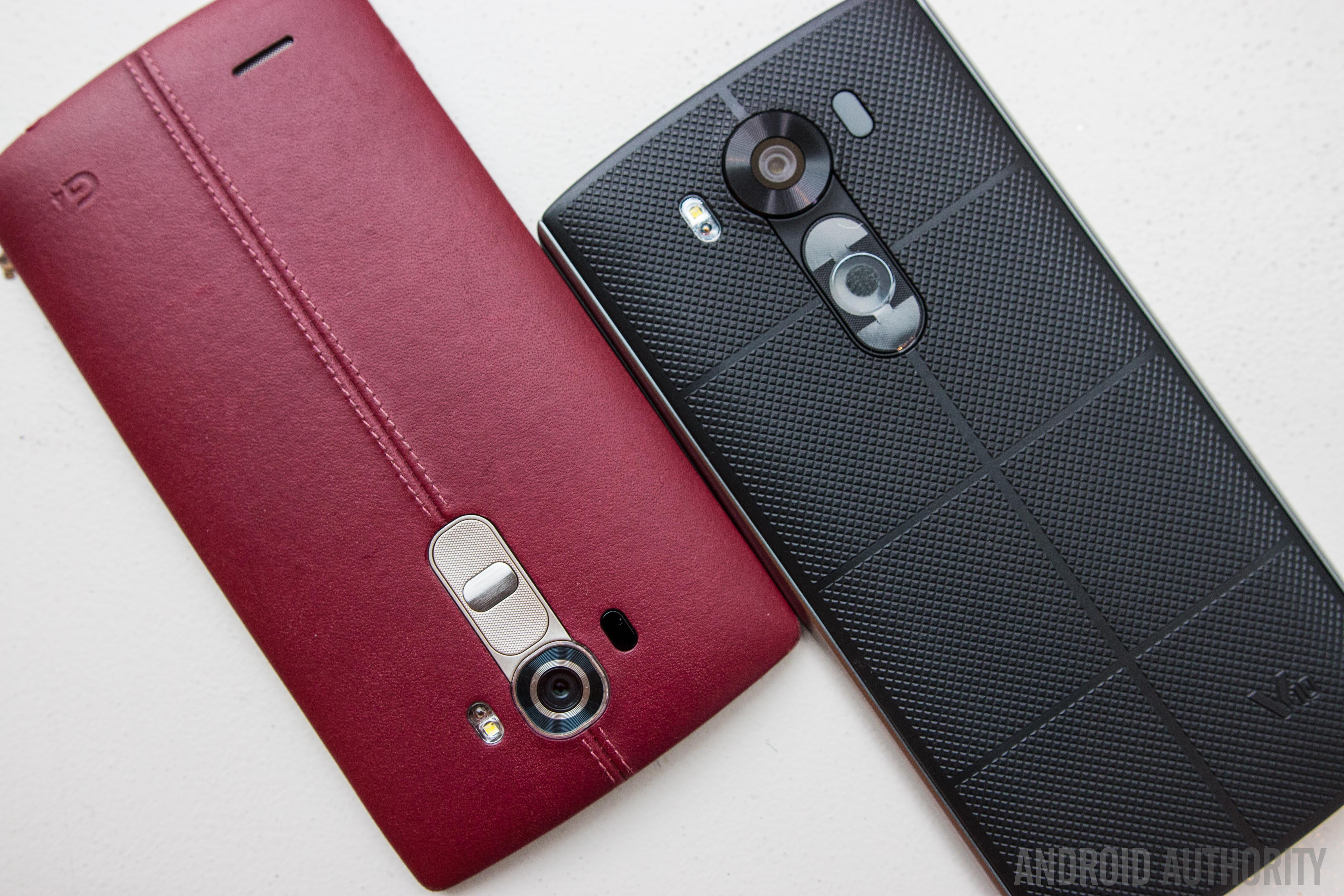 LG V10 Vs LG G4 Quick Look-10