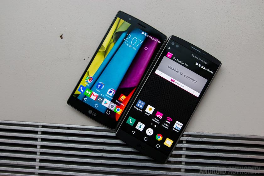 LG V10 Vs LG G4 Quick Look-6