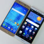 OPPO R7 Plus vs Galaxy A8 Display