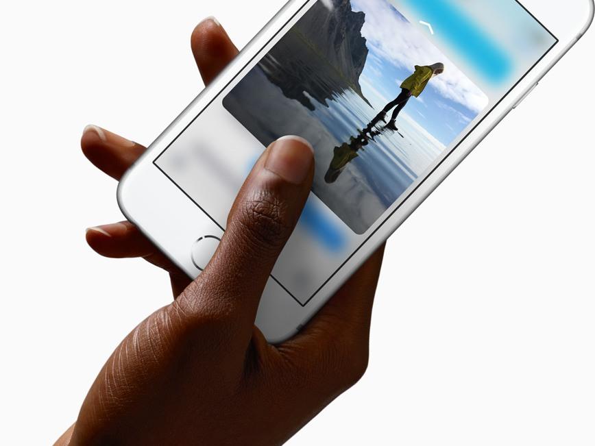 apple 3d touch 3 2