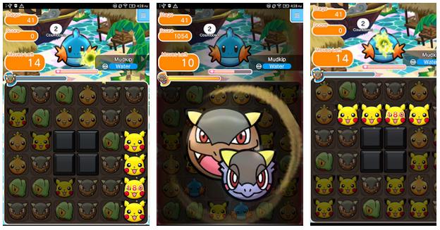 Billedresultat for pokemon shuffle play store
