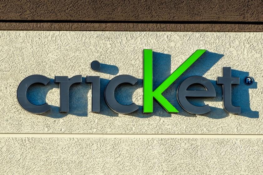 Cricket logo on a building